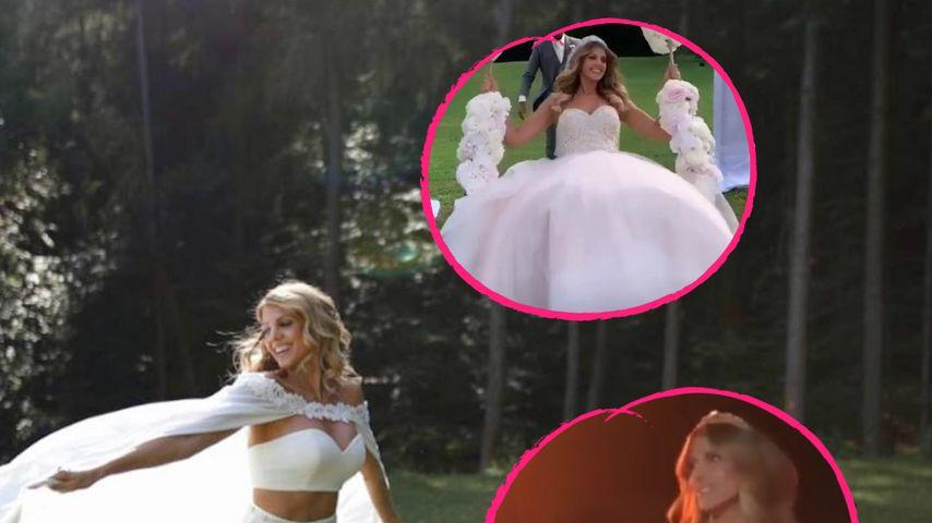Die Braut-Looks von Sarah Harrison: Dieser ist Fan-Liebling!