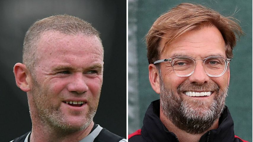 Collage: Wayne Rooney und Jürgen Klopp