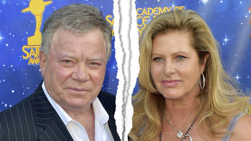 William Shatner: Schauspieler hat die Scheidung eingereicht