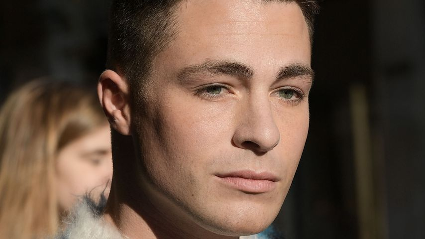 Colton Haynes bei der Pariser Fashion Week 2017