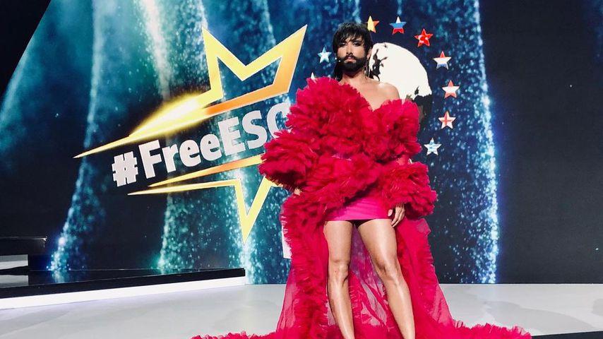 """Conchita Wurst beim """"Free European Song Contest"""" 2021"""