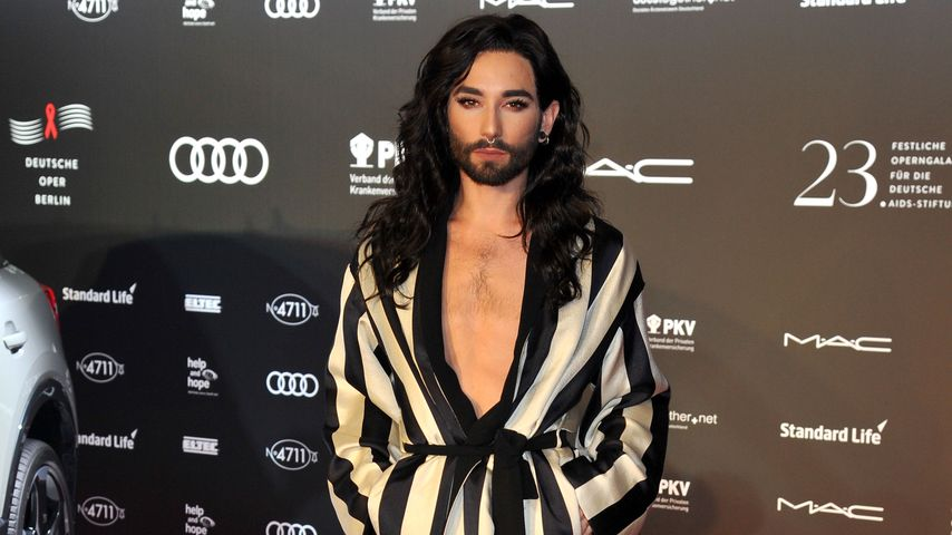 Conchita Wurst im November 2016 bei der AIDS-Gala in Berlin