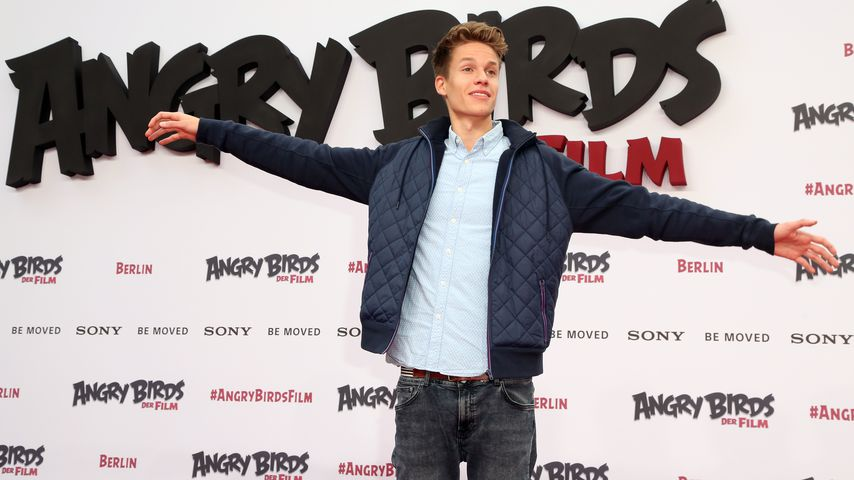 Concrafter Luca bei der Angry Birds Premiere 2016 in Berlin