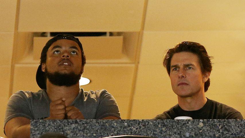 Connor Cruise mit Papa Tom