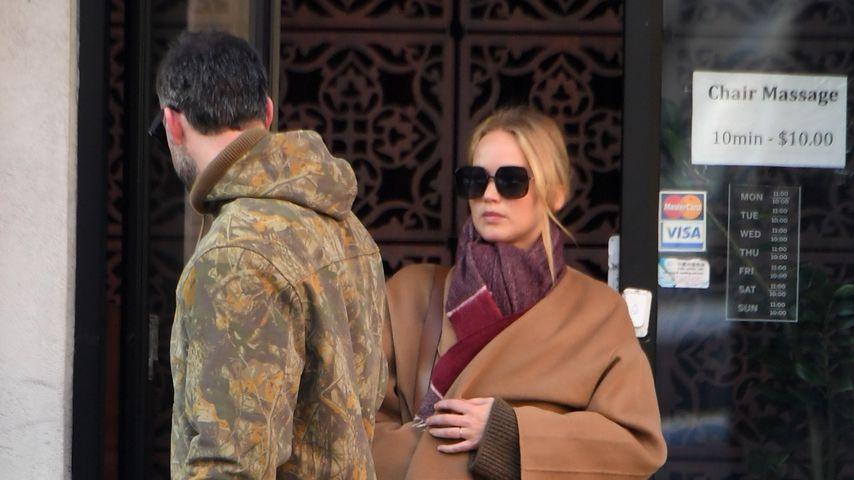 Cooke Maroney und Jennifer Lawrence, November 2019