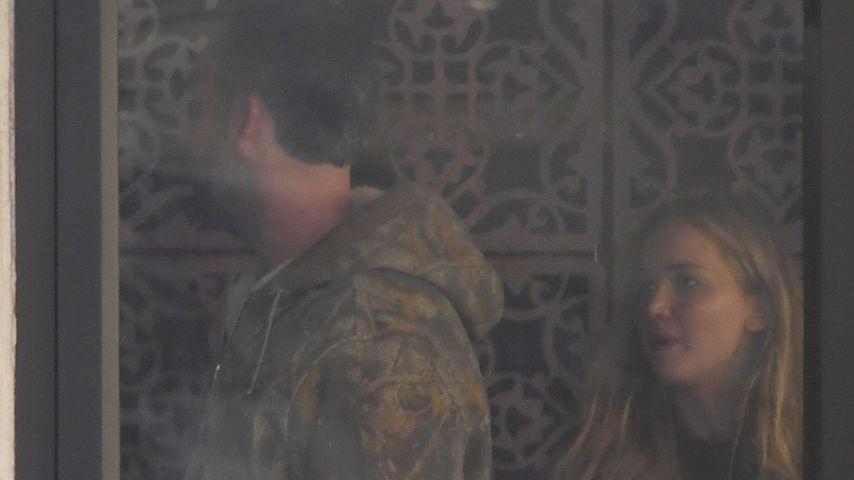 Cooke Maroney und Jennifer Lawrence beim Verlassen eines Spas in New York im November 2019