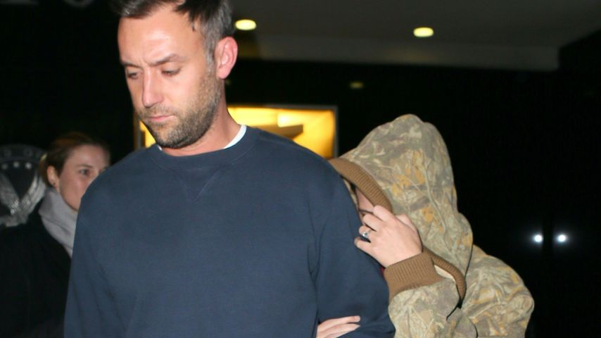 Cooke Maroney und Jennifer Lawrence in New York