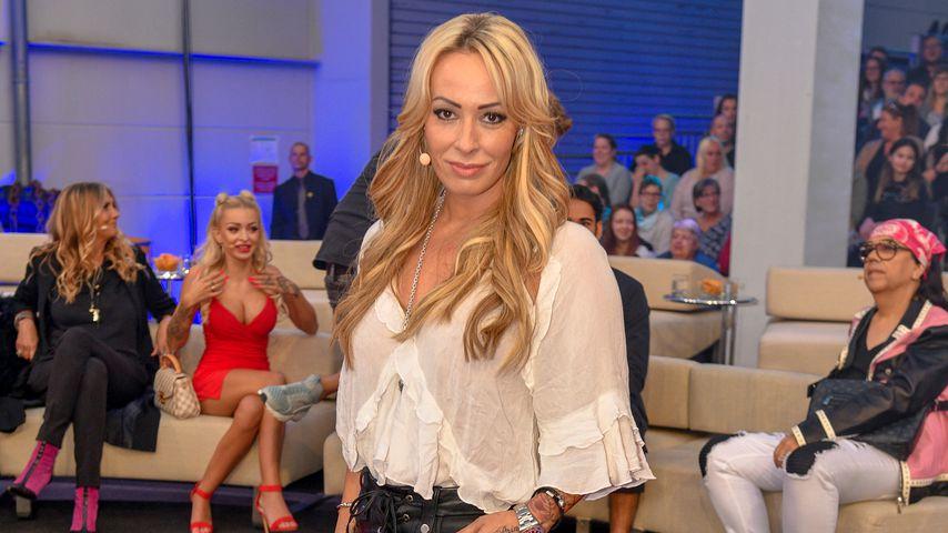 """Cora Schumacher beim Finale von """"Promi Big Brother"""" 2018"""