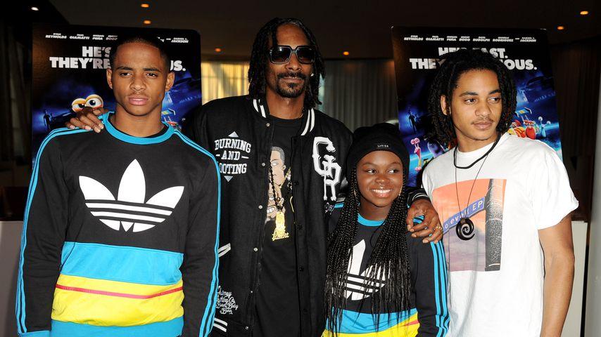 Cordell Broadus, Snoop Dogg, Cori Broadus und Corde Broadus