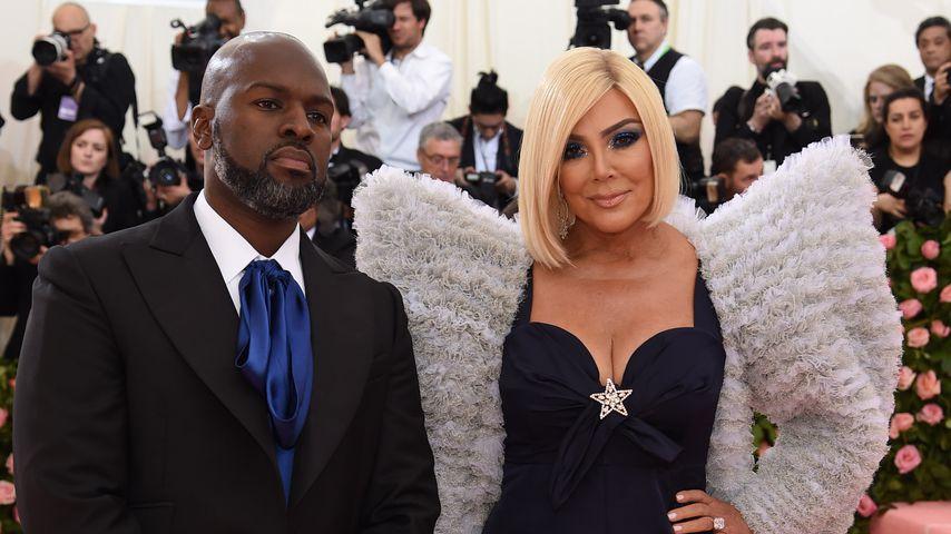 Corey Gamble und Kris Jenner bei der Met-Gala 2019