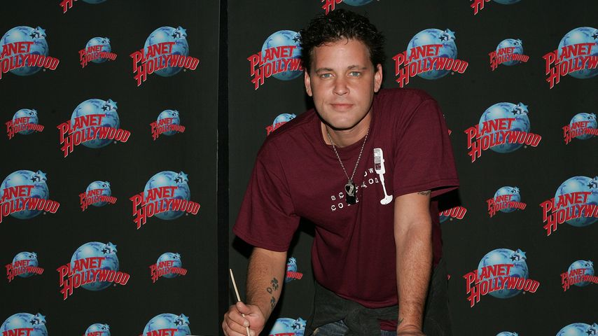 "Corey Haim bei der ""Handprint Ceremony"" im Planet Hollywood Times Square"