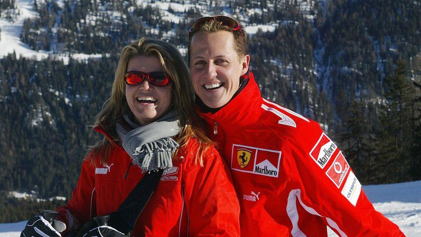 Corinna und Michael Schumacher im Januar 2005