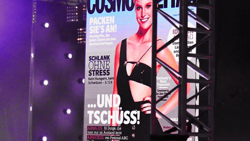 """""""Und tschüss"""": Ist für GNTM-Kim das Cover ein Karriere-Omen?"""
