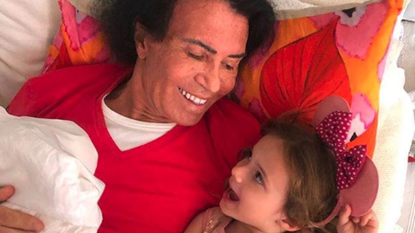 Sie vermisst Opa: Sophia sucht Costa Cordalis (†) am Himmel