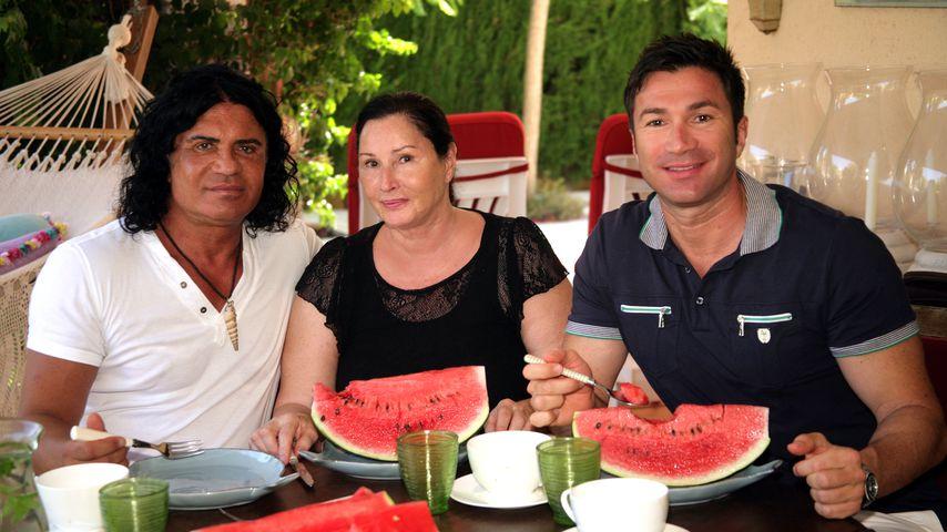 Bis zu Costas Tod: Ingrid und Lucas Cordalis waren bei ihm