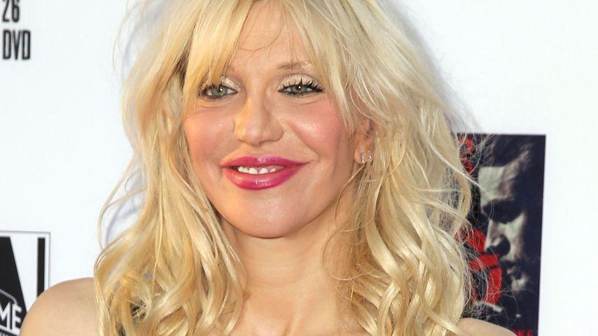 Frisch verliebt: Courtney Love datet 15 Jahre jüngeren Mann