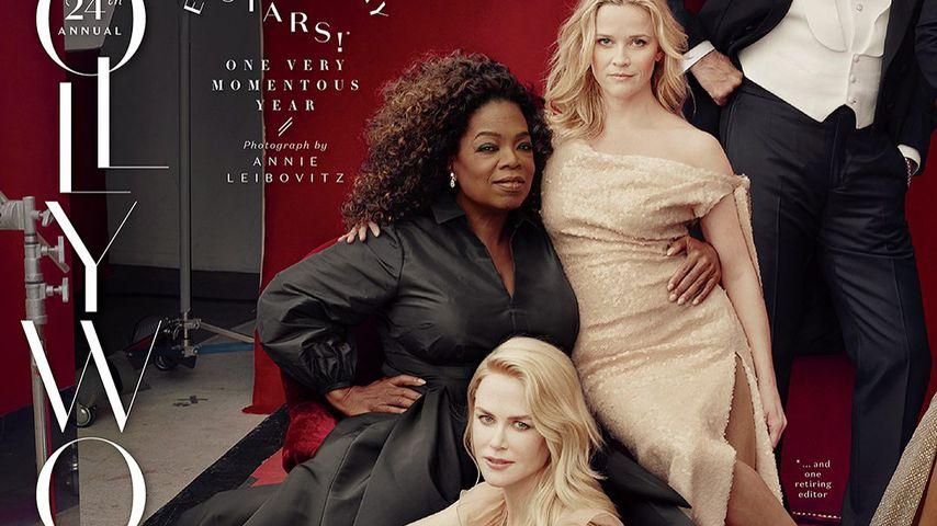 Oprah Winfrey, Nicole Kidman, Reese Witherspoon und Tom Hanks auf dem Cover von Vanity Fair