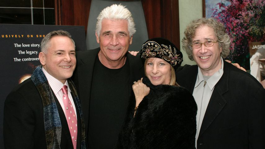 Craig Zadan, James Brolin, Barbra Streisand und Robert Allan Ackerman
