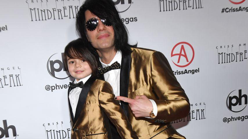 Criss Angel und sein Sohn Johnny Crisstopher