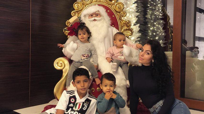 Cristiano Jr., Eva, Matteo, Alana Martina und Georgina