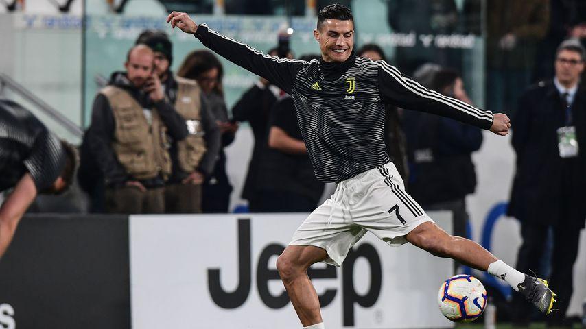 Total gereizt: Cristiano Ronaldo rastet bei Interview aus!