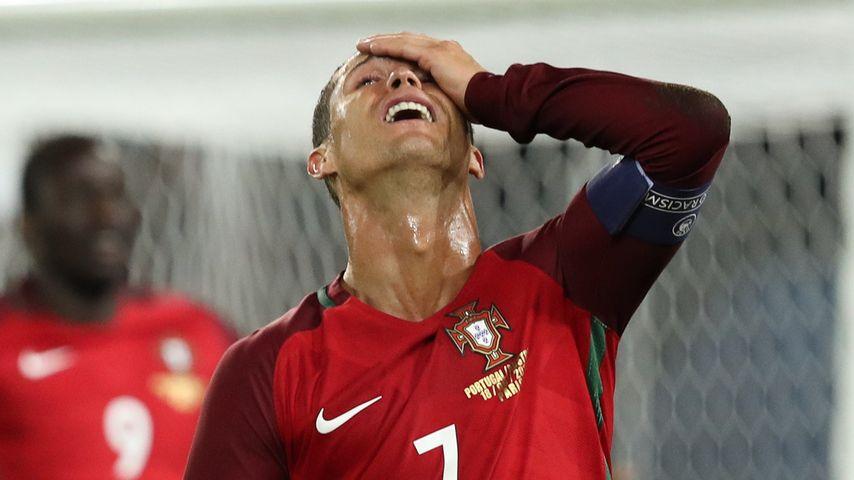 Cristiano Ronaldo beim EM-Spiel gegen Österreich