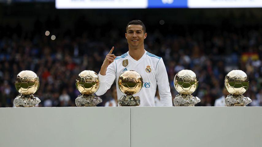"Cristiano Ronaldo gewinnt zum fünften Mal den ""Ballon d'Or"""