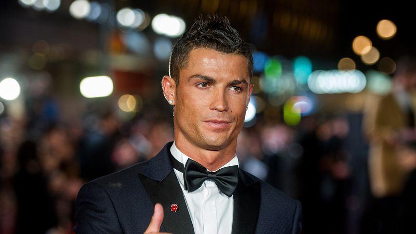 """Cristiano Ronaldo bei der Premiere von """"Ronaldo"""" in London 2015"""