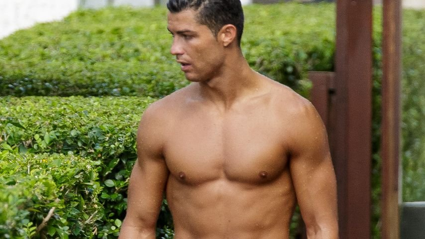Cristiano Ronaldo in Badehose in Miami