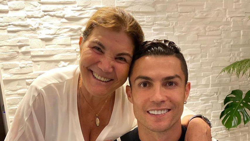 Aus Sorge: Ronaldo erteilt seiner Mutter Stadionverbot!