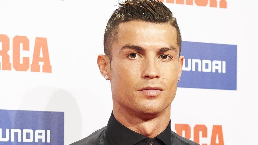 Cristiano Ronaldo bei einem Event in Madrid 2016