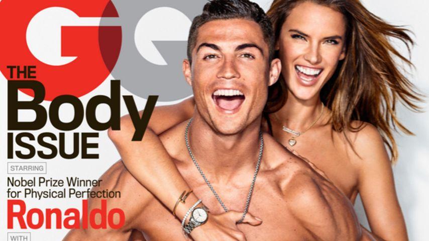 Hot! Cristiano Ronaldo & Alessandra Ambrosio zeigen Haut