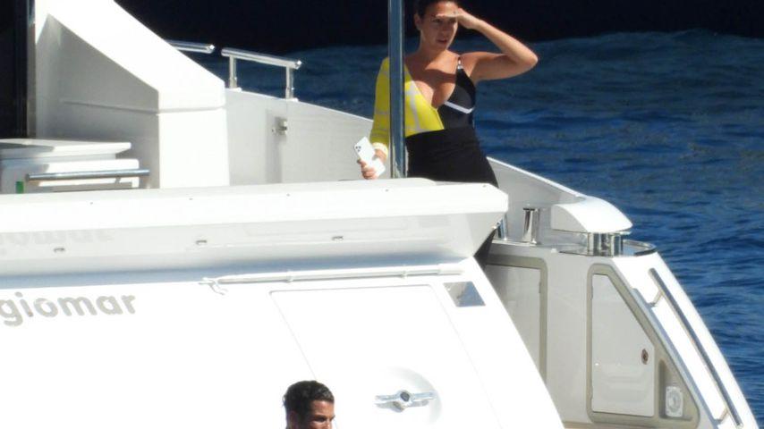 Cristiano Ronaldo und Georgina Rodriguez, Juni 2020
