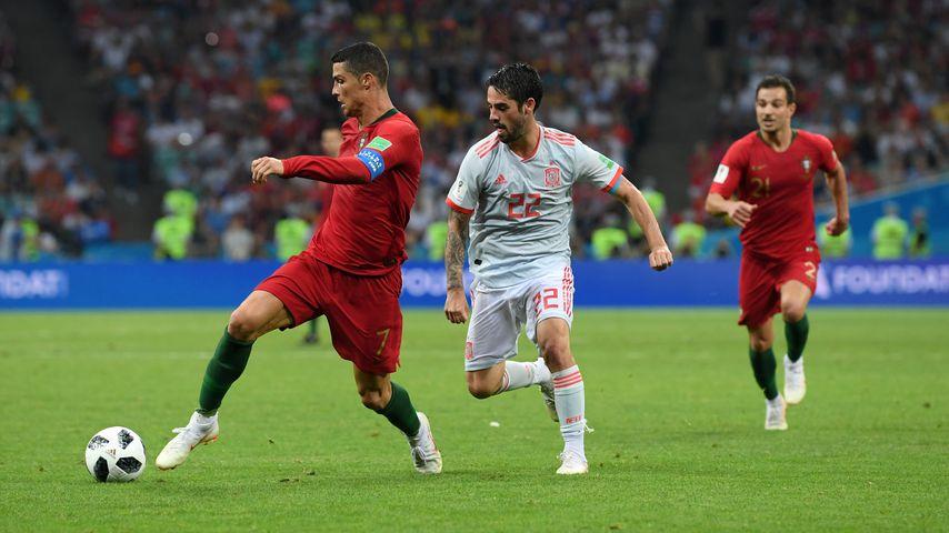 Nach WM-Spiel: Cristiano Ronaldo vom Teamkollegen ignoriert?