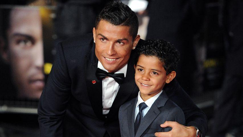 Cristiano Ronaldo Jr.: Schon jetzt ein süßer Gentleman!