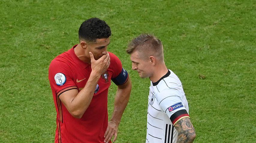 Cristiano Ronaldo und Toni Kroos, Juni 2021