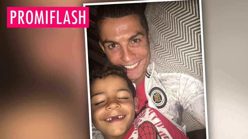 Cristiano Ronaldos Sohn zahnlos