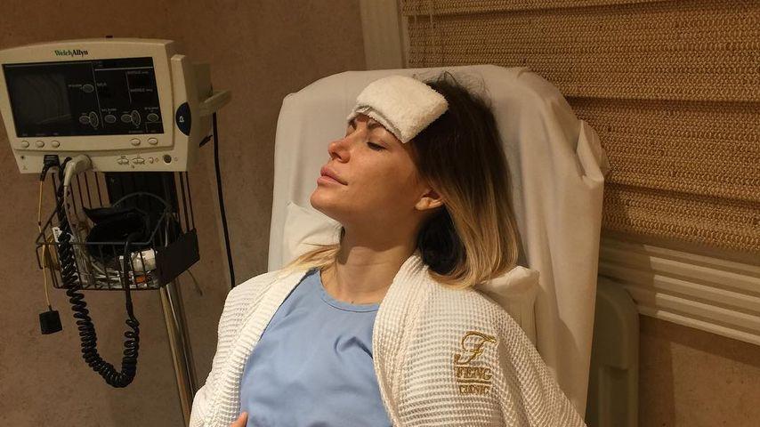 Crystal Hefner im Krankenhaus nach ihrer Brust-OP