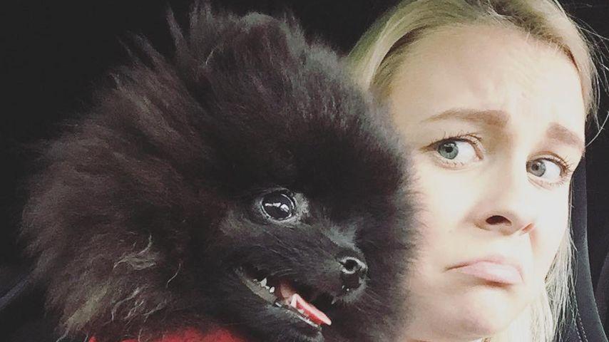 YouTuberin Dagi Bee mit Hündchen Zula