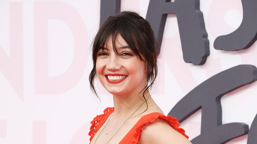 Daisy Lowe beim Filmfestival in Cannes