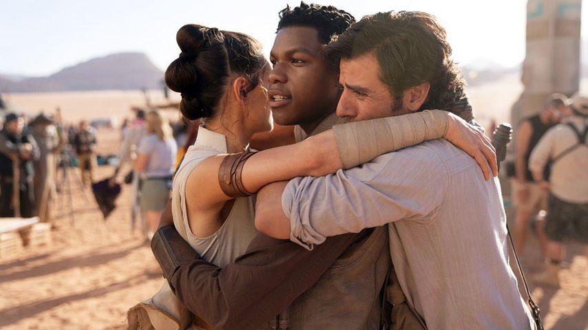 """Daisy Ridley, John Boyega und Oscar Isaac in """"Star Wars: Der Aufstieg Skywalkers"""""""