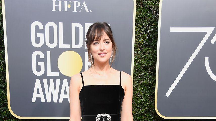 Dakota Johnson bei den Golden Globes 2018