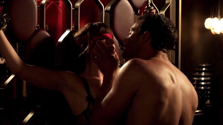 """Dakota Johnson und Jamie Dornan in """"Shades of Grey"""""""