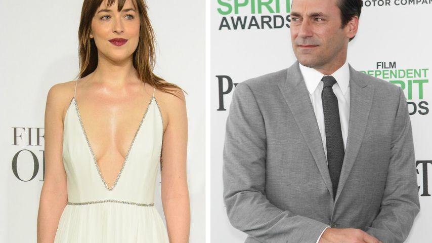 """Dakota Johnson: Liebt sie jetzt """"Mad Men""""-Star Jon Hamm?"""