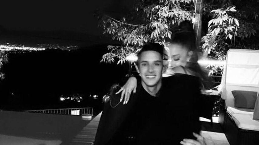 Dalton Gomez und Ariana Grande im Juni 2020