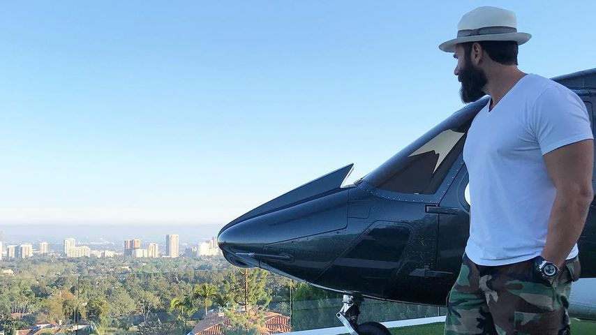 Dan Bilzerian in Bel Air 2018
