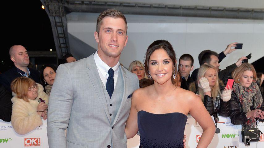 Dan Osborne und Jacqueline Jossa auf den 21. National Television Awards in London 2016