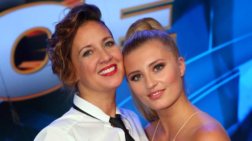 """Dana Schweiger mit ihrer Tochter Luna bei """"Dance Dance Dance"""""""