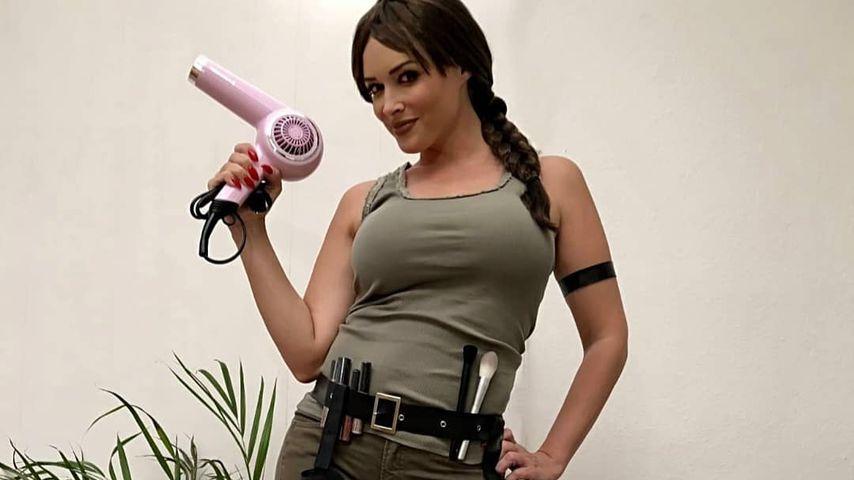 Katze oder doch Abenteurerin? Dani macht auf Lara Croft!