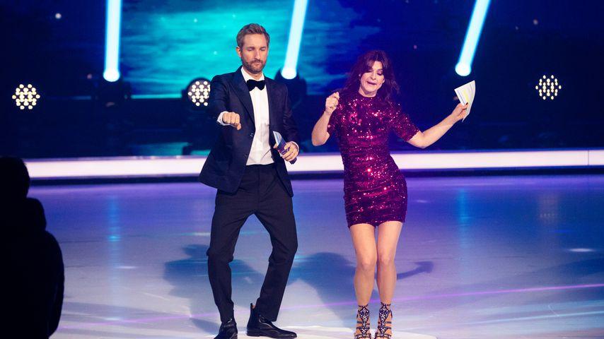 """Daniel Boschmann und Marlene Lufen bei """"Dancing on Ice"""" 2019"""